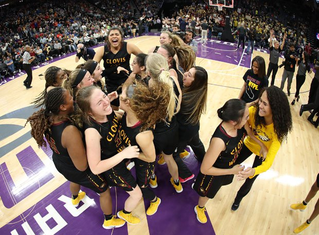 Clovis West celebrated another great comeback win from the CIF Championships on Saturday.