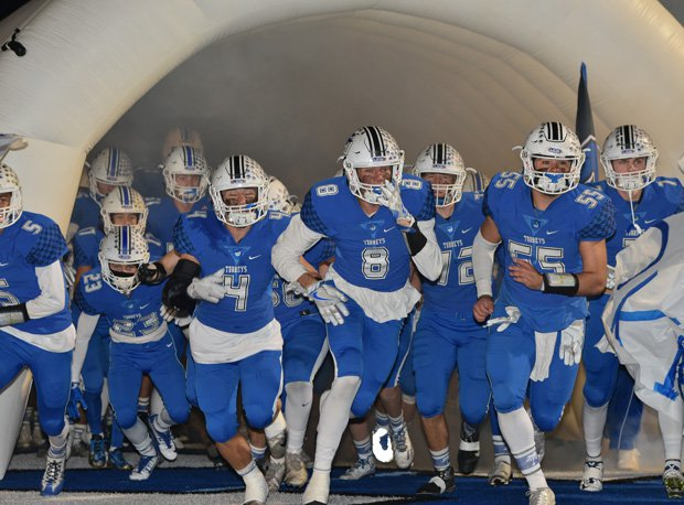 The Torreys take the field for their state title bowl game.