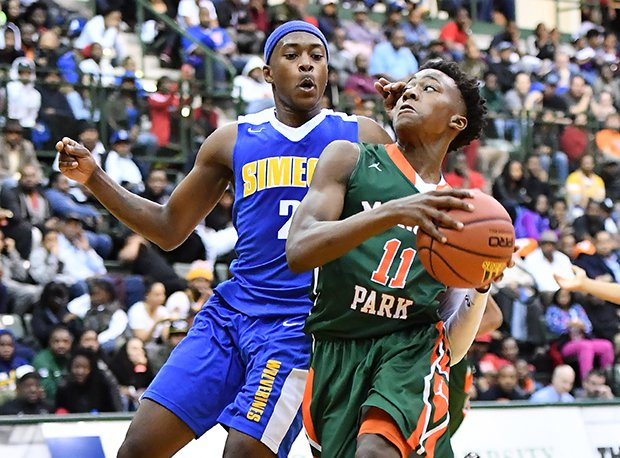 Morgan Park (Class 3A) and Simeon (4A) are both in the Sweet 16.
