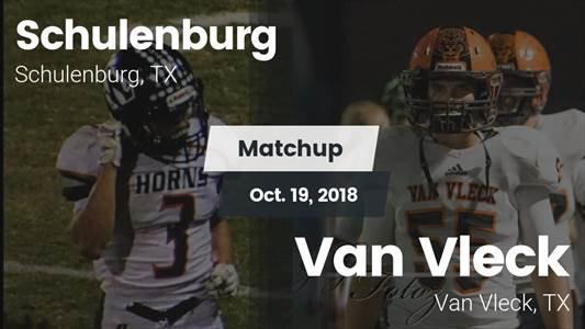 Football Game Recap: Van Vleck vs. Schulenburg