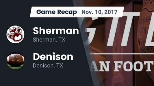 Football Game Preview: Sherman vs. V.R. Eaton