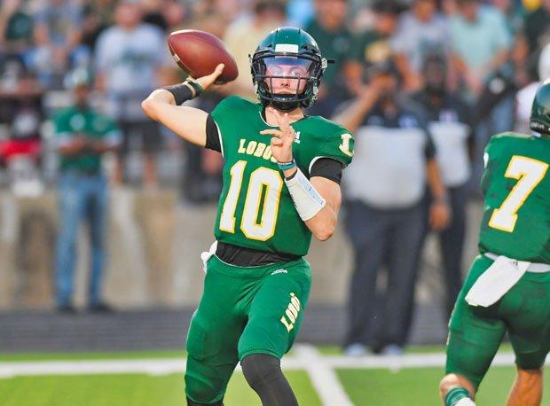 Haynes King, Longview quarterback