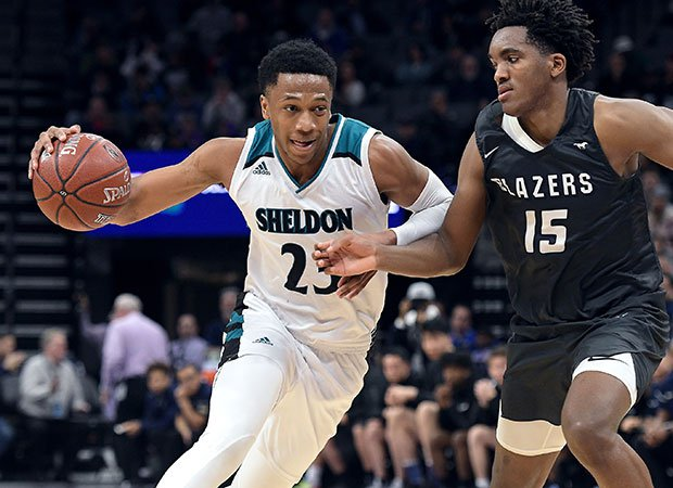 Sheldon forward Marcus Bagley