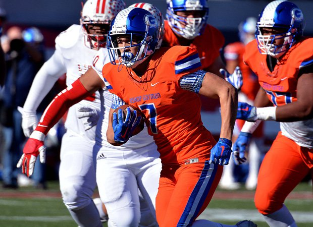 Gorman running back Biaggio Ali Walsh scored two touchdowns in the victory.
