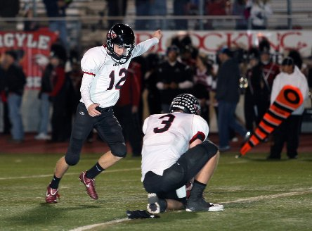 Argyle (TX) sophomore kicker Cole Hedlund booted his 22nd and 23rd field goals of the season Friday night to set the national single-season record.