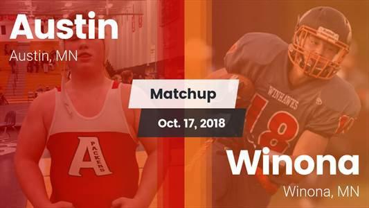 Football Game Recap: Austin vs. Winona