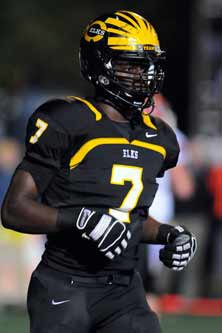 Ifeadi Odenigbo has about 20 scholarshipoffers, but has narrowed his list downto five schools.