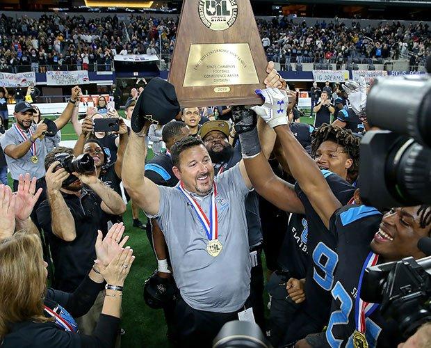 Head coach Brad Butler