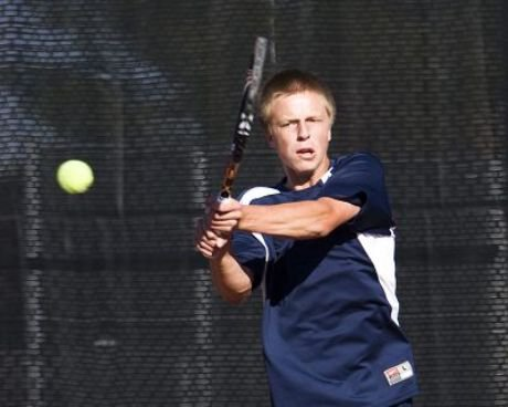 Highlands Ranch senior Hayden Sabatka is aiming for a repeat Class 5A title at No. 1 singles.