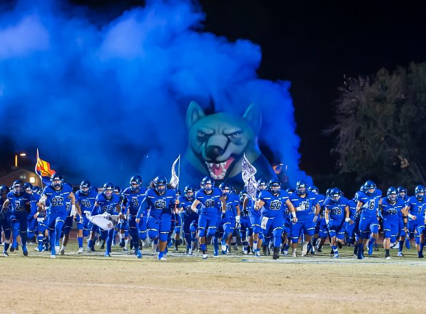 Chandler (Ariz.) takes the field. The Wolves check in at No. 14 this week and face Saguaro for the Open Division state championship on Dec. 7.