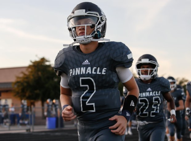 Spencer Rattler takes the field for a historic Friday night performance against O'Connor of Phoenix.