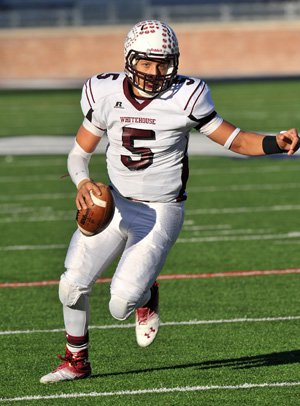 Patrick Mahomes was AP's Texas state football Player of the Year.