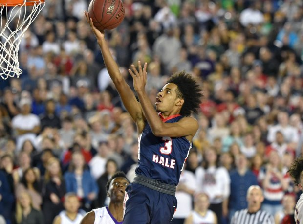 P.J. Fuller solidified his status as a rising star playing alongside Michael Porter Jr. this season at Nathan Hale.
