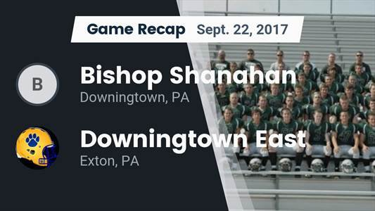 Football Game Preview: Downingtown West vs. Bishop Shanahan