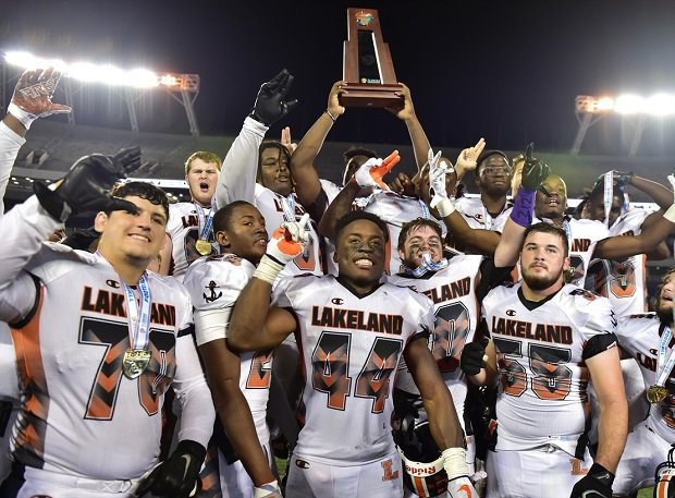 Lakeland moves to No. 19 after winning the Florida 7A state title.