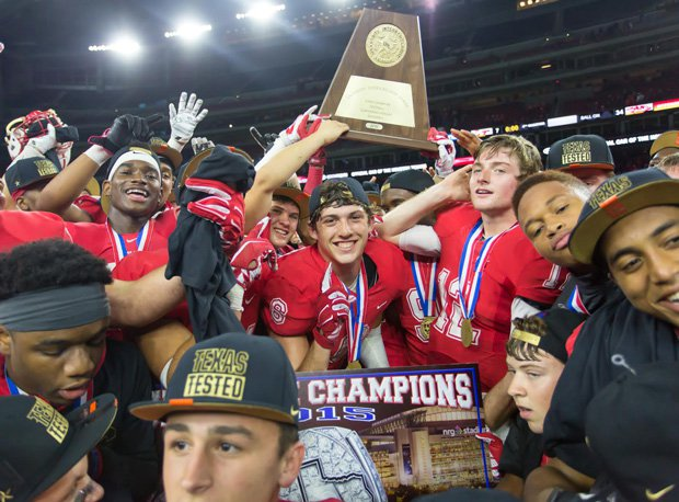 Katy celebrated a state title Saturday, and now a national title as well.