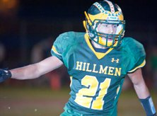 Placer's Joe Mangino scored two TDs in a 56-14 win over Foothill.