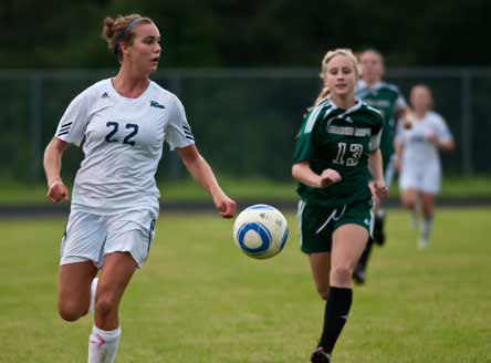 Caroline Gentry and the Leesville Road girls soccer team will battle Ardrey Kell for a North Carolina title and a high standing in the MaxPreps Xcellent 25 National Girls Soccer Rankings.