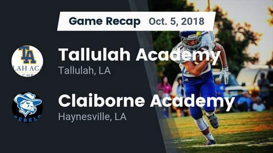 Football Game Recap: Mount Olive Christian vs. Claiborne Academy