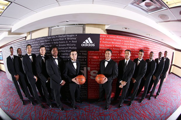The East boys squad posing before the formal dinner.