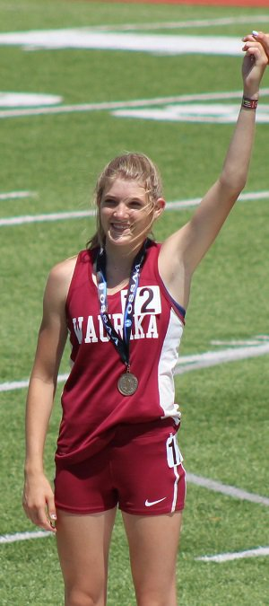 As a freshman, Smith placed fifth in the 1,600-meter  and 3,200at the 1A state championships.