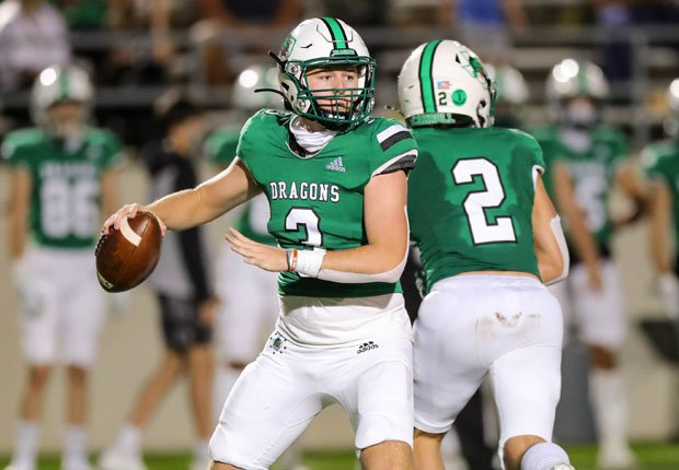 Southlake Carroll quarterback Quinn Ewers is the nation's No. 1 recruit for the 2022 Class.