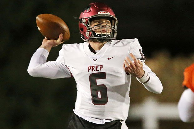Kyle McCord threw for 337 yards and four touchdowns in his final game at St. Joseph's Prep.