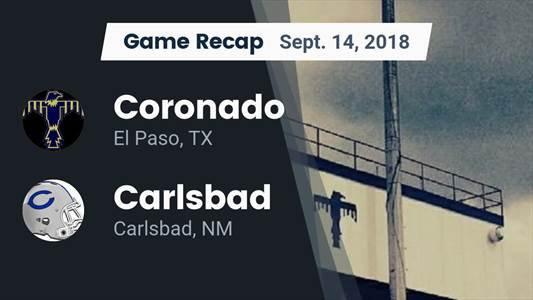 Football Game Recap: Coronado vs. Franklin