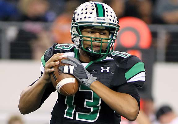 Kenny Hill brings poise and experience to the quarterback spot for Southlake Carroll and reigning National Coach of the Year Hal Wasson.