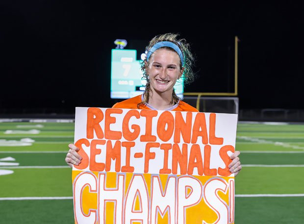 Taylor Zdrojewski and her Celina Bobcats go for a Class 4A Region II title on Thursday.
