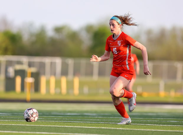 Taylor Zdrojewski scored at least four goals in all but five of her team's matches in 2020-21.