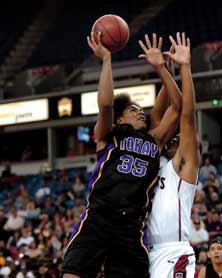 Julius Thomas was a basketball starat Tokay High in Lodi, Calif. Heled his team to its firstSac-Joaquin Section title in 2006.