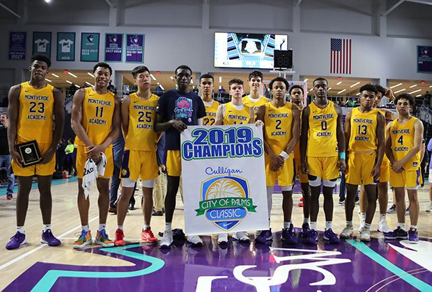 Montverde Academy took home the 2019  City of Palms Classic championship banner Monday night in Florida.