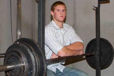 Weight-training is part of Braden Smith's life much like eating and sleeping.