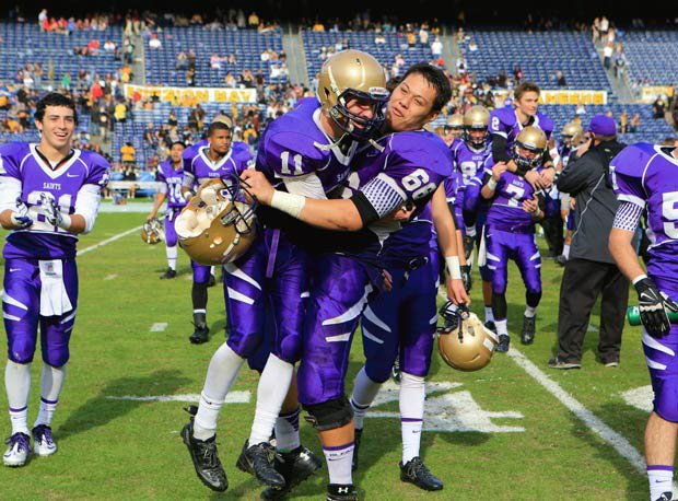 St. Augustine is the San Diego Section Division II champion and will wait to see if it is selected for a bowl berth.