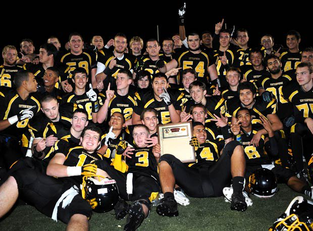 Enterprise has already won the Northern Section Division I title.