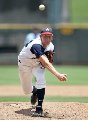 John Simms of College Park (The Woodlands, Texas) is 4-0 for Team USA 18U.