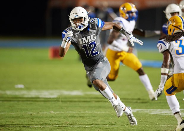 Greg Newsome II was the first IMG Academy player selected, the 26th pick overall in the first round by the Cleveland Browns on Thursday.