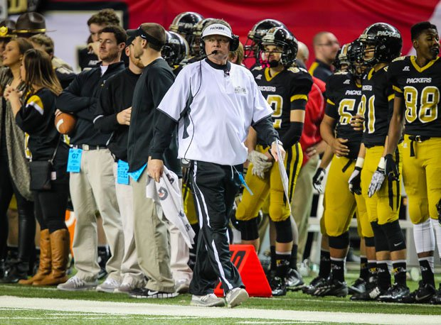 Colquitt County coach Rush Propst looks for his seventh state title between Alabama and Georgia.