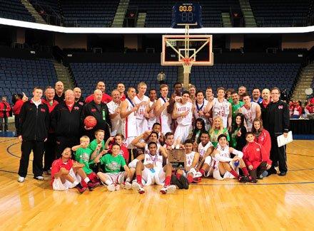 Mater Dei boys and girls won regional titles Saturday night in Ontario.