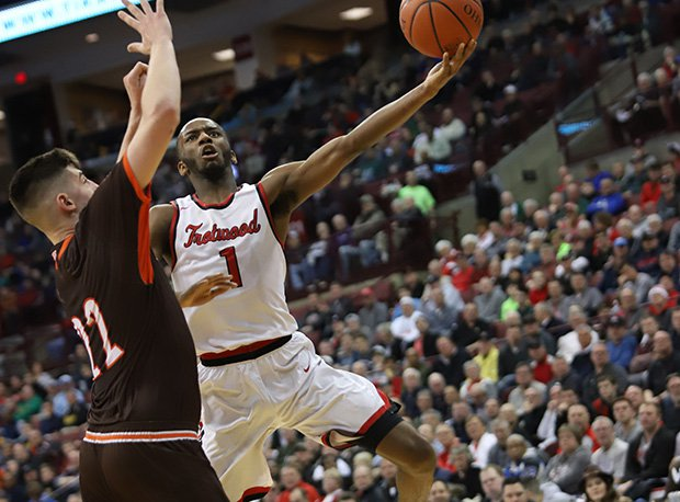 Trotwood-Madison's Amare Davis had 40 points in two D-II state tournament games.