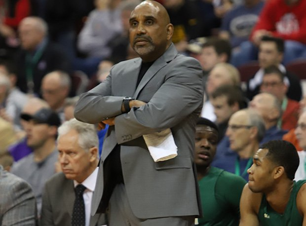 Coach Dru Joyce has been a part of seven of Akron St. Vincent-St. Mary's record eight state titles.
