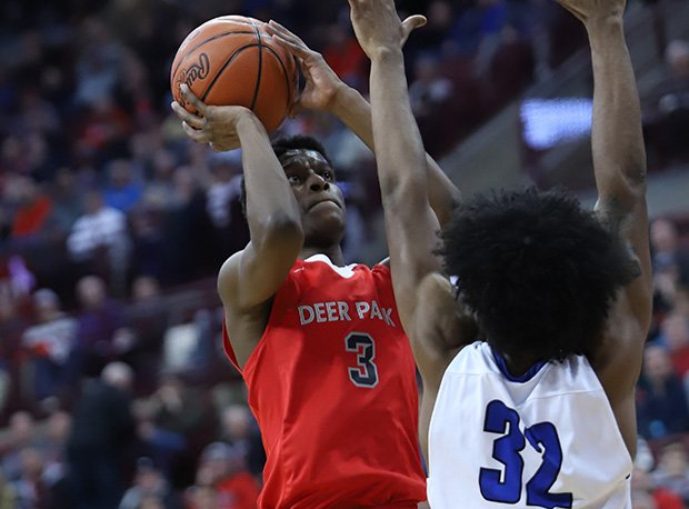 Deer Park's Jalen Rose had 31 points (including team-high 18 in the semis) in two state tournament games.