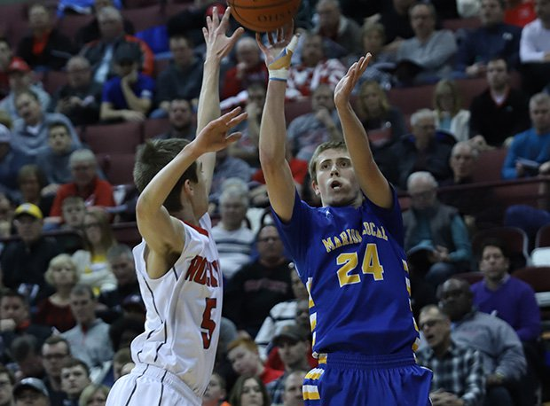 Pandora-Gilboa and Marion Local staged a classic semifinal that the Flyers won 56-54.