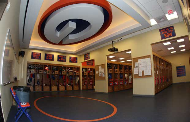 The state-of-the-art locker room has been compared favorably to college programs and even some professional-sport teams.