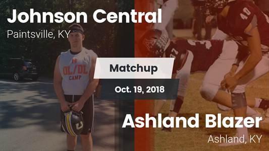 Football Game Recap: Johnson Central vs. Ashland Blazer