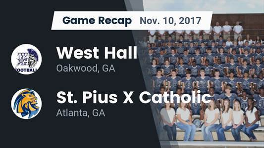 Football Game Preview: St. Pius X Catholic vs. Troup County