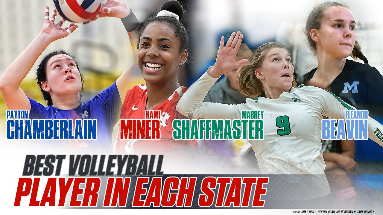Best High School Volleyball Player In All 50 States Maxpreps