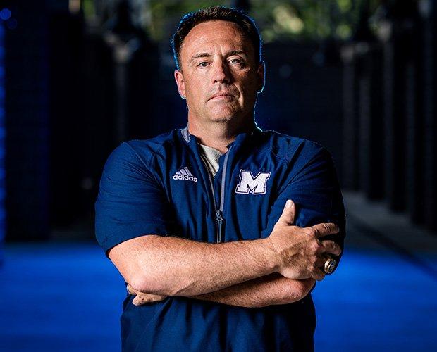 Head coach Richard Morgan
