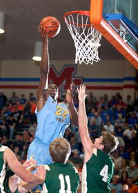 Andrew Wiggins was too much for Briarcrest Christian on Saturday night.